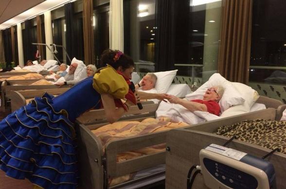 optredens verpleeghuizen