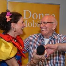 Muziekoptredens voor ouderen en senioren La Donna Mobile